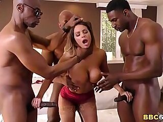 Brooklyn Chase's First Time Interracial DP