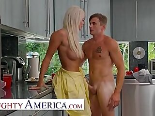 Nathan Bronson gets lucky with his friend's mom in the kitchen and bedroom