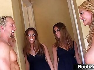 Real Twin Sisters Join Swinger Couple For a Group Sex