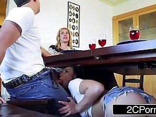 Naughty Housesitter Aidra Fox Makes Husband Cheat