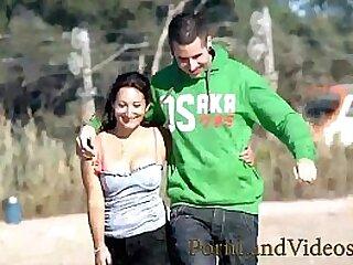 French milf Charlotte fucking anal with y. boyfriend