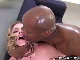 Rough Interracial Anal PMV - c., Slapping, Spanking