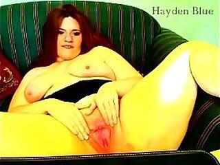 Hayden needs your cum on her BBW cunt