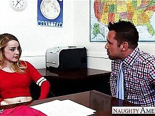 Superb schoolgirl Alexia Gold fuck her teacher