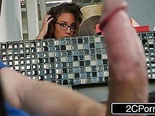 Naughty Busty Beauty Layla London Wants Stepdad's Cock
