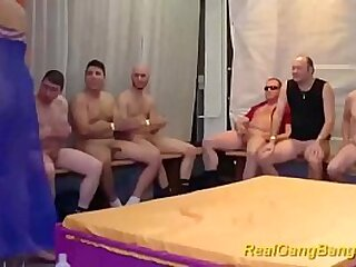hot blonde girl cony clay gets extreme rough german groupsex fucked