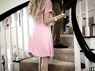 Teen girlfriend Piper Perri gangbanged by d. dealers
