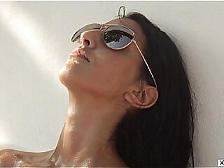 Petra Red - Summer Erotica - Wet and Oil Photography Session - XCZECH.com
