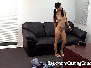 Trashy Teen Casting Creampie