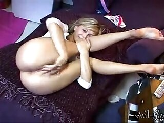 Teen Kasia masturbating solo