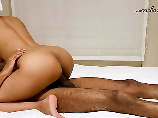 Desi couple Leisure time fuck at a hotel.