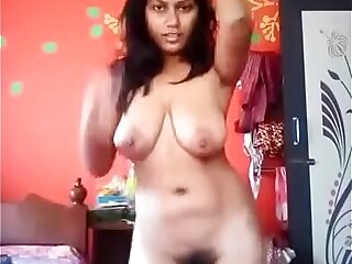 Indian hairy pussy girl dancing nude