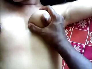 Indian boobs massage